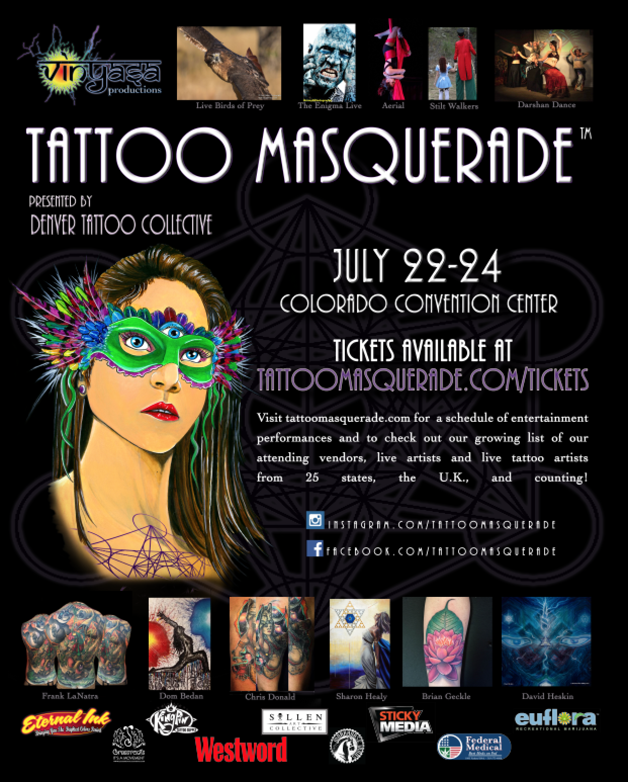Tattoo Masquerade approaches!