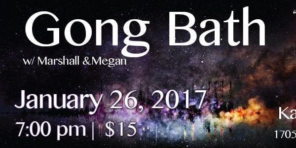 January Gong Bath at Karma