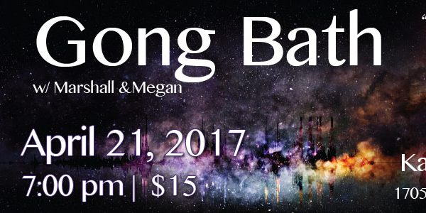 April Gong Bath at Karma
